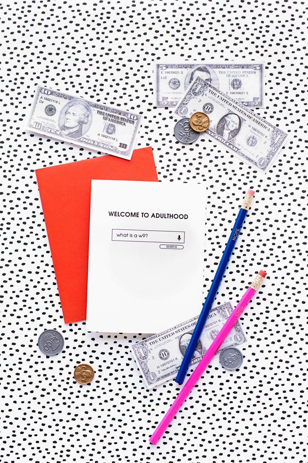 Welcome To Adulthood: Free Printable Graduation Cards   Graduation - Free Printable Welcome Cards
