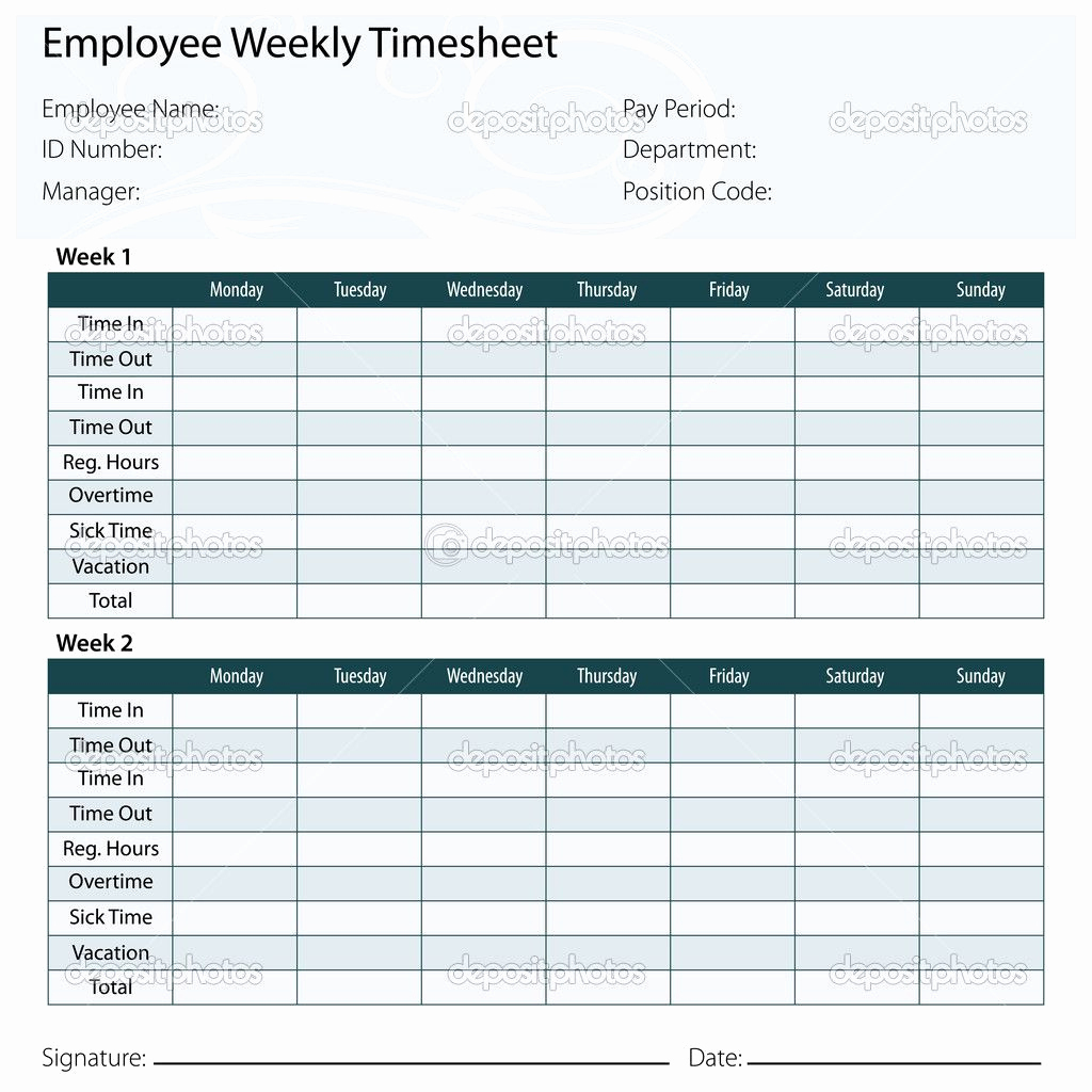 What Is A Timesheet – Mycourses.space - Timesheet Template Free Printable