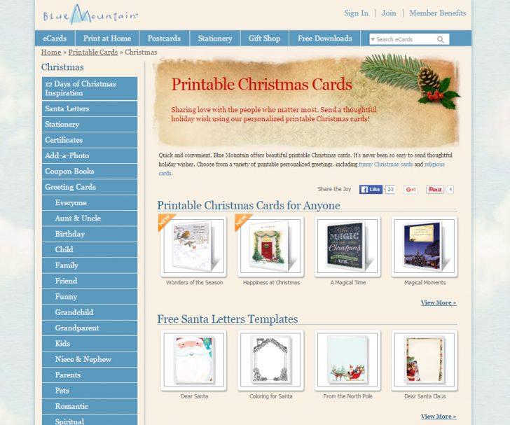 Blue Mountain Cards Free Printable