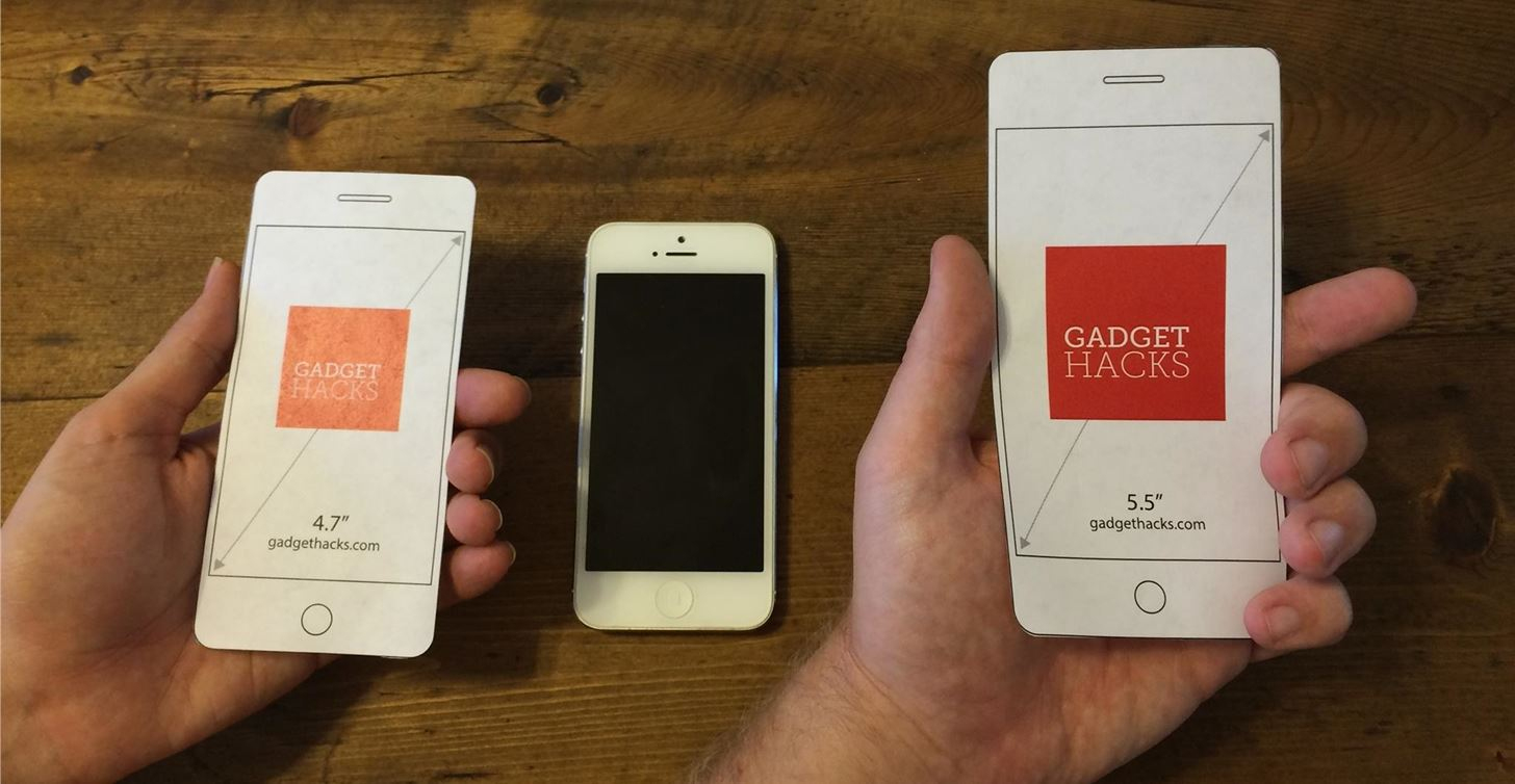 Which Iphone 6 Size Is Best For You? Use Our Printable Cutouts To - Free Printable Iphone Skins