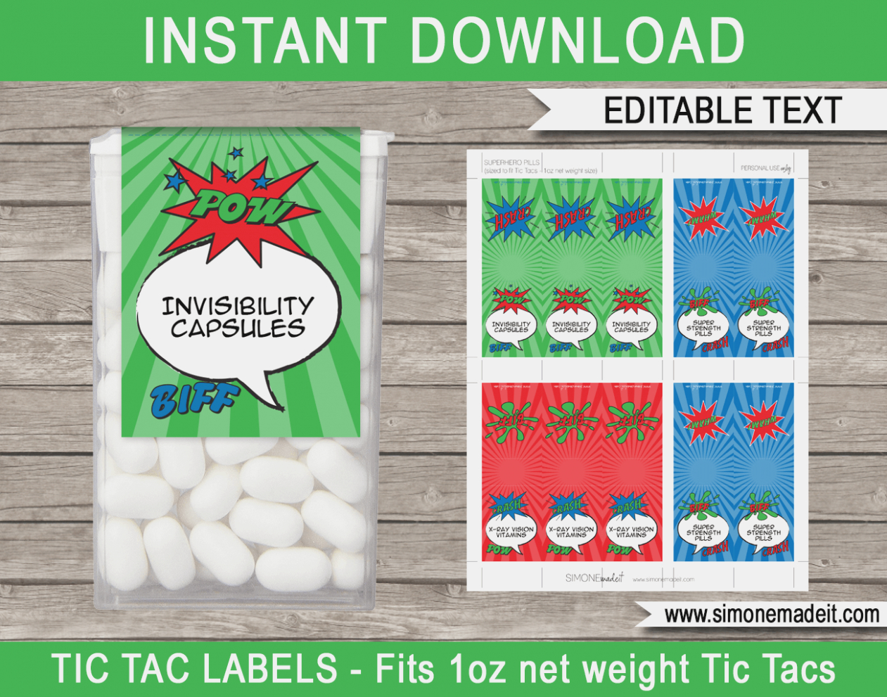 Why Is Everyone Talking About Free | Label Maker Ideas - Free Printable Tic Tac Labels