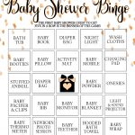 Wicksncandlesticks : It's Bingo Baby! A Free Baby Shower Printable Game   Baby Bingo Game Free Printable