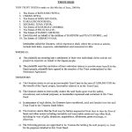 Will And Trust Forms   44 Free Templates In Pdf, Word, Excel Download   Free Printable Will And Trust Forms