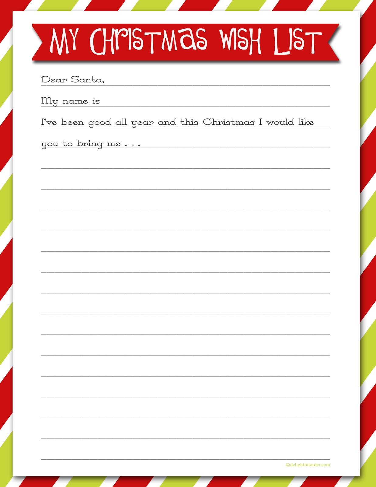Wish List Maker With Pictures - Bestchristmasdeals - Free Printable Christmas List Maker