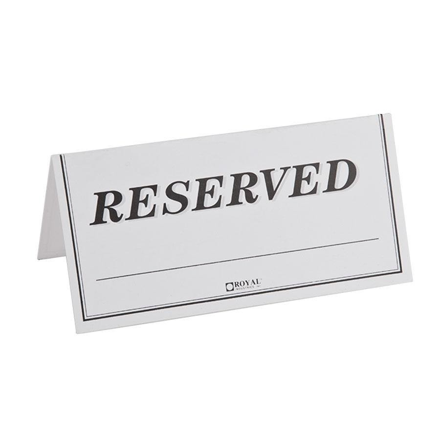 Within Reserved Signs Templates At Reserved Signs Templates - Free Printable Reserved Table Signs