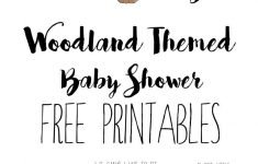 Woodland Baby Shower Free Printables | Baby Showers – Free Printable Book Themed Baby Shower Invitations