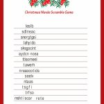 Word Jumble Game Printable. Easter Fun Word Jumble (Word Scramble   Free Printable Religious Christmas Games