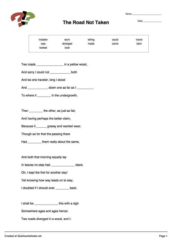 Free Printable Test Maker For Teachers