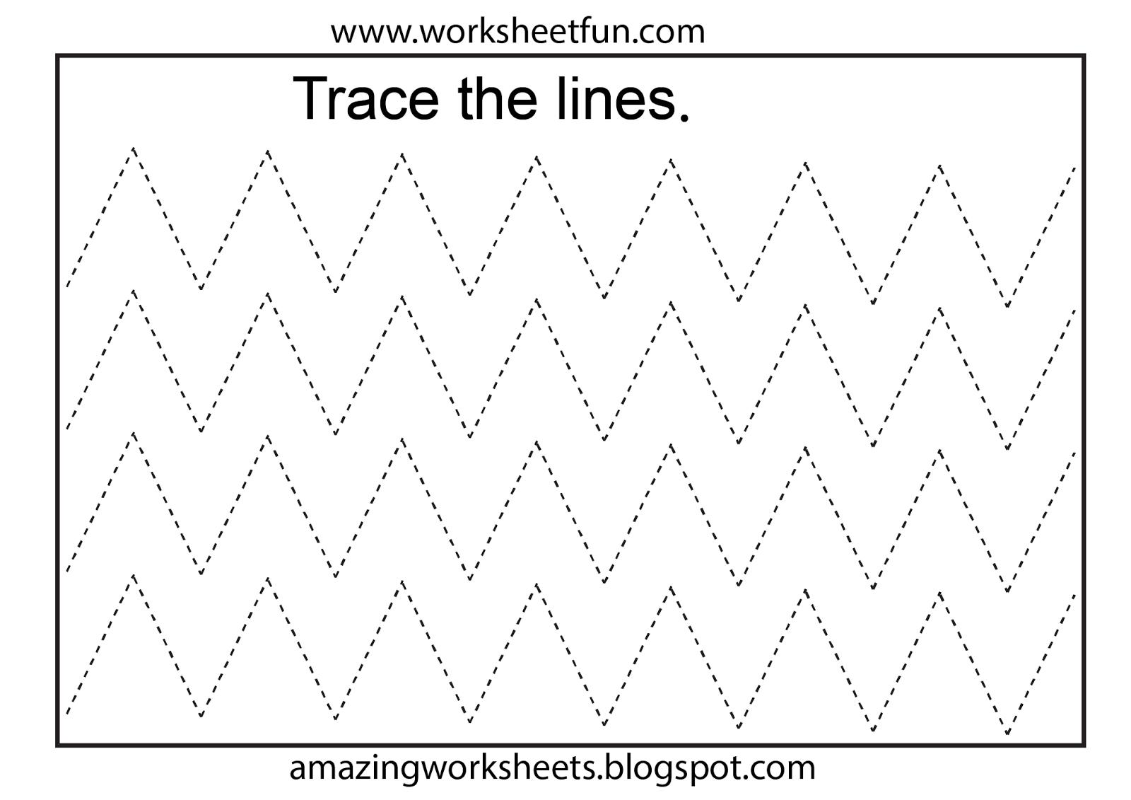 Worksheetfun - Free Printable Worksheets   Toddler Worksheets - Free Printable Tracing Worksheets