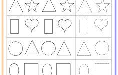 Free Printable Toddler Learning Worksheets