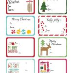 World Label Exclusive Christmas Gift Tag Printable | Christmas   Christmas Labels Free Printable Templates