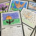 Write A Report About Bats! Use This Oh So Cute Bat Themed Writing   Free Printable Bat Writing Paper