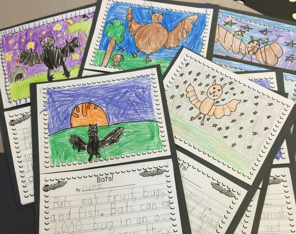Write A Report About Bats! Use This Oh-So-Cute Bat-Themed Writing - Free Printable Bat Writing Paper