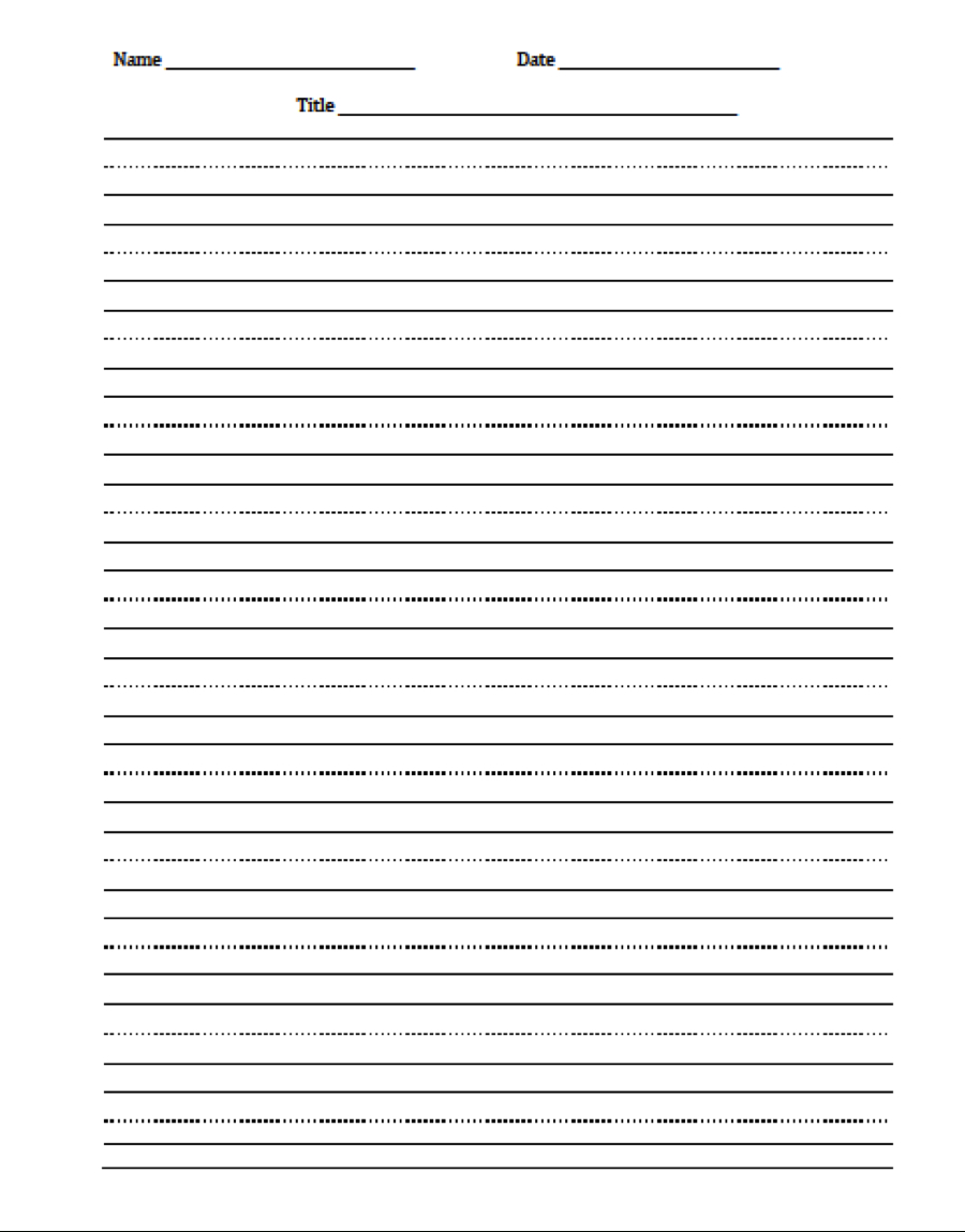 Writing Paper - College Homework Help And Online Tutoring. - Elementary Lined Paper Printable Free