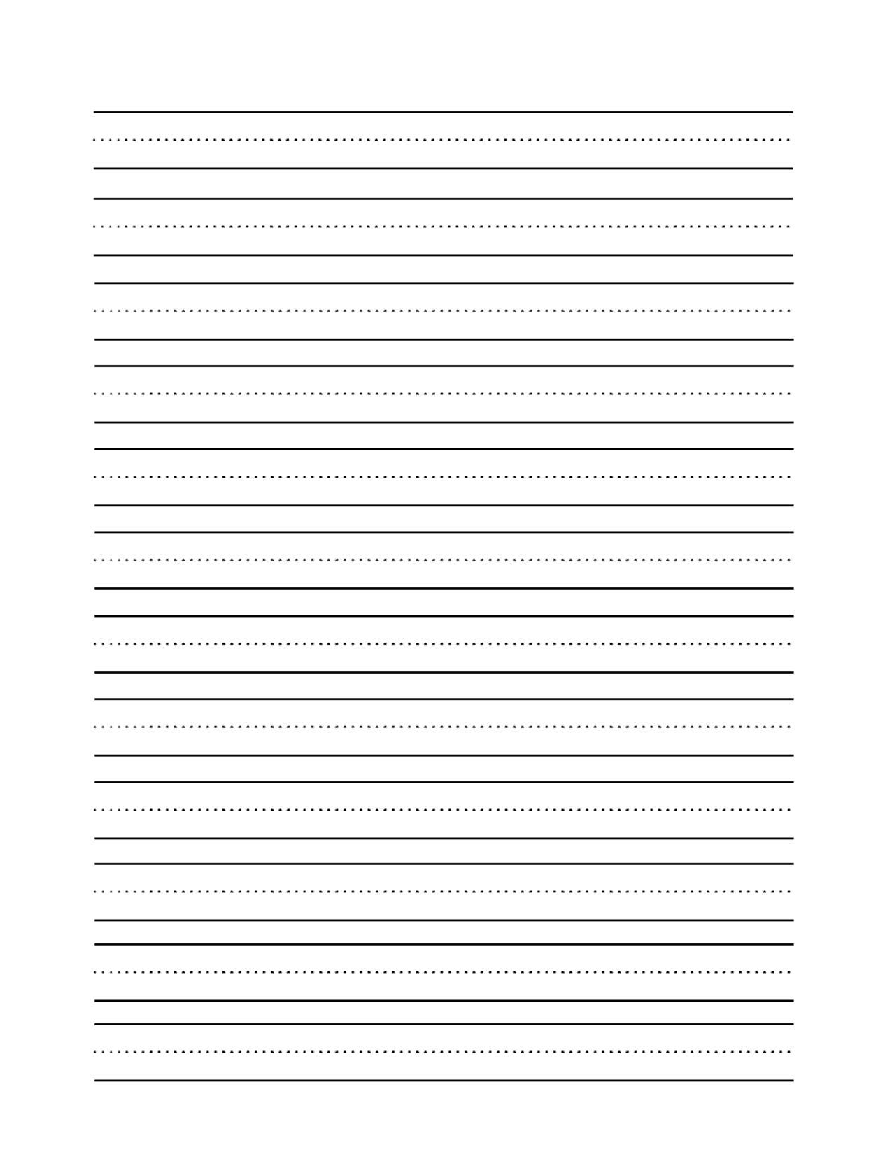 Writing Sheets Term Paper Example - March 2019 - 1454 Words - Blank Handwriting Worksheets Printable Free
