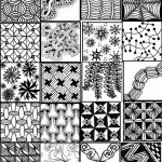 Zentangles Patterns Free Printables |  Printable Sheets To Serve   Free Printable Doodle Patterns